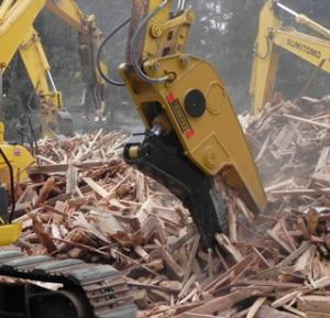 木材産廃カッター